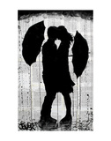 Umbrellas and Love Prints by Loui Jover