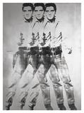 Triple Elvis®, 1963 Poster von Andy Warhol