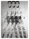Andy Warhol - Triple Elvis®, 1963 - Poster