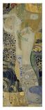 Water Serpents I, ca. 1904-1907 Posters af Gustav Klimt