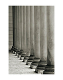 Vertical Columns Plakater af Christian Peacock