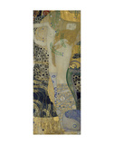 Water Serpents I, ca. 1904-1907 Konst av Gustav Klimt