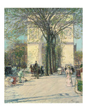 Washington Arch, Spring, 1890 Prints by Childe Hassam