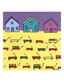 Wagons Prints by Brian Nash