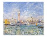 Vue de Venise, 1881 Poster by Pierre-Auguste Renoir