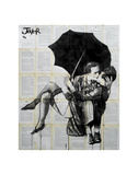 Vintage Kiss Prints by Loui Jover