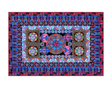 Turquoise Tapestry Prints by Lawrence Chvotzkin