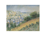 View of Vétheuil, 1881 Prints by Claude Monet