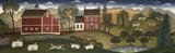 Farm Pederson Prints by Diane Ulmer Pedersen