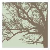 Winter Tree III Print by Erin Clark
