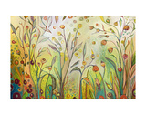 Welcome to My Garden Print by Jennifer Lommers