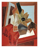 Flowers on the Table Prints by Juan Gris