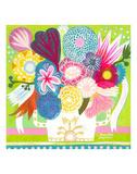 Flowers n. 15 Affiches par Mercedes Lagunas