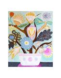 Flowers n. 9 Affiches par Mercedes Lagunas