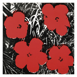 Flowers (Red), 1964 Giclee Print by Andy Warhol