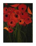 Wild Poppies Prints by Karen Tusinski