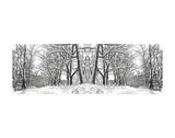 Winter Archway Art by Erin Clark