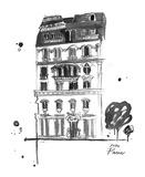 XOXO Paris Print by Jessica Durrant