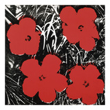 Flowers (Red), 1964 Prints by Andy Warhol