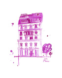 XOXO Pink Paris Prints by Jessica Durrant
