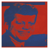 Andy Warhol - Flash-November 22, 1963, 1968 (red & blue) Obrazy