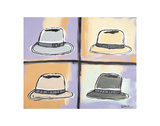Four Hats Art by Brian Nash