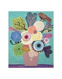 Flowers n. 10 Prints by Mercedes Lagunas
