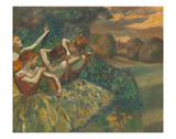 Four Dancers Posters by Edgar Degas