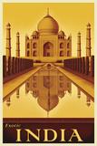 Exotic India Affiche par Steve Forney