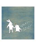 Follow Your Heart - Go Together Affiches par Kristiana Pärn