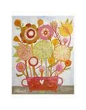 Flowers n. 6 Prints by Mercedes Lagunas