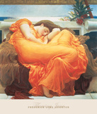 Flaming June Posters by Frederic Leighton
