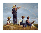 Folge dem Regenbogen Poster von Jim Daly