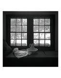 Window Seat Blizzard Plakat af Tom Artin
