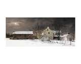 Winter Moon Print by Ray Hendershot