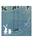 Follow Your Heart - Let's Swing Prints by Kristiana Pärn