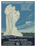 Yellowstone National Park Posters by  Vintage Reproduction