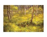 Whispering Grass Prints by Michael Hudson