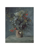 Flowers in a Vase, c. 1866 Posters by Pierre-Auguste Renoir