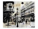 Französisches Viertel Poster von Loui Jover