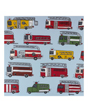 Fire Trucks Prints by Brian Nash