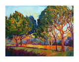 Ficus Mosaic Posters by Erin Hanson