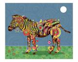 Zebra Posters by Teofilo Olivieri