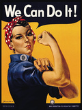 We Can Do It! Plakater av J.H. Miller