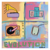 Evolution - Stereo Giclee Print by Brian Nash