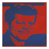 Flash-November 22, 1963, 1968 (red & blue) Prints by Andy Warhol