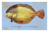 Winter Flounder Prints by John W. Golden
