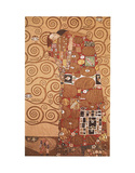 Satisfação Pôsters por Gustav Klimt