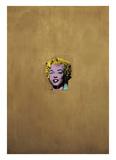 Marilyn Monroe dorée, 1962 Affiches par Andy Warhol
