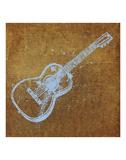 Guitar Posters by Zhen-Huan Lu